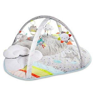 Skip Hop Silver Lining Cloud Baby Play Mat - Excellent Condition