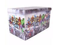 Marvel Double Storage Seat/Stall Ottoman