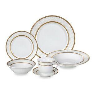 24 piece porcelain dinnerware set