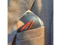 100% Silk Pocket Square (NEW)