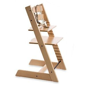 Stokke Tripp Trapp Natural Solid Wood High Chair
