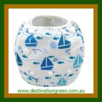 Reusable Swim Nappy plus Wet Bag - FREE Postage Beacon Hill Manly Area Preview