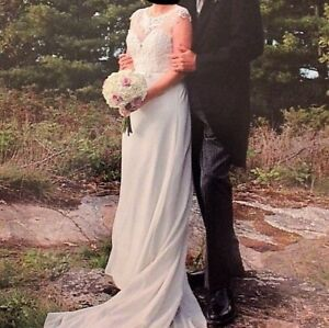 Beautiful wedding dress - one owner - worn once