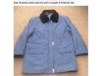 Size 16 ladies winter coat