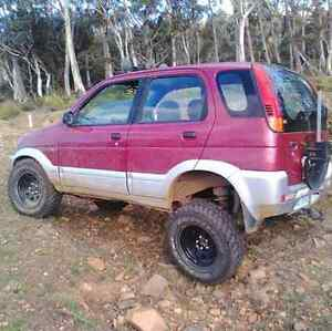 1998 Daihatsu Terios Campbell Town Northern Midlands Preview