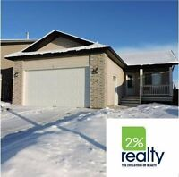 Very Nice 3 Bedroom Main Blackfalds Home - Listed By 2% Realty