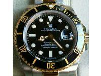 Rolex Submariner Bi Colour + Box, Papers