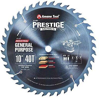 Amana Tool - Pr1040c Electro-blu Carbide Tipped Prestige General Purpose 10 Inch