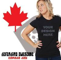 Custom Canada Day Shirts - Banff and Canmore!