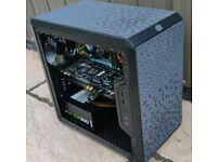 I7 Gaming PC, Newly Built, SSD, 16GB RAM, GTX 970, FORTNITE, OVERWATCH, GTA V etc. Windows 10 Pro