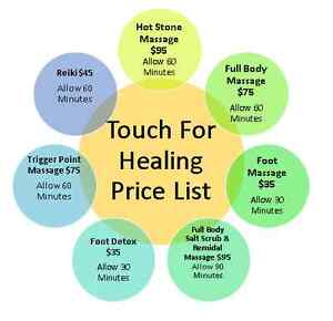 Touch For Healing East Cannington Canning Area Preview
