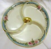 Rose Pattern Dishes