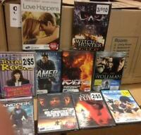 Assorted DVD Movies - Wholesale - Assorted Cases