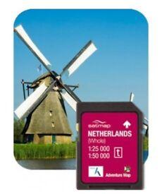SatMap GPS SD Map Card - Netherlands