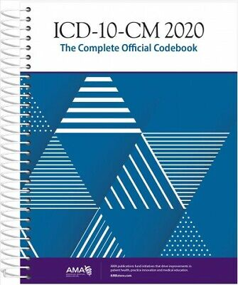 ICD-10-CM 2020 : The Complete Official Codebook, Paperback by American Medica...