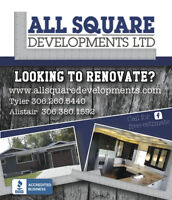 ALL SQUARE DEVELOPMENTS - Basements - Kitchens - Additions