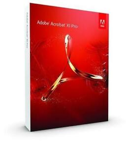 Adobe Acrobat XI Professional - 3 PC or MAC License