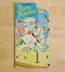 Vintage Collectors 1974 Mary Poppins Picture Book. £6.00 ono