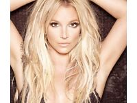 Britney Spears London 02 Sunday August 25th **LESS THAN COST**