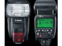 Canon 600EX RT ii Flash Gun