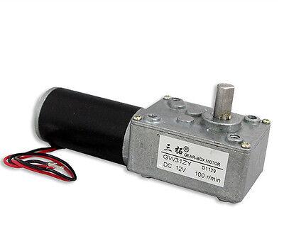 Ultrashort Motor High-torque Worm Gear Motor Dc Motor Gw31zy 12v 100rpm