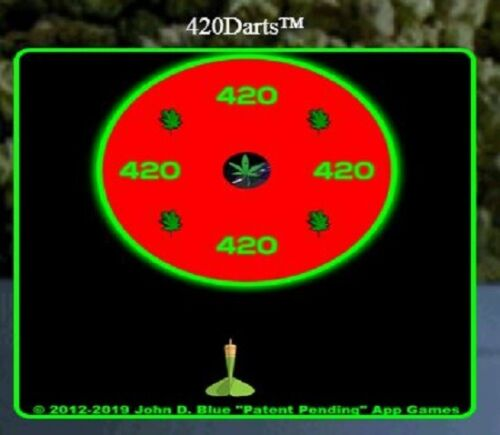 420Darts® >>> a playable 420 app game is FOR SALE