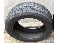 Michelin Diamaris 4X4 255/50 R19 107v part used tyre.
