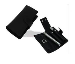 Black Leather Cigar Accessory Set Chadstone Monash Area Preview