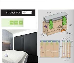 Henderson-W18-Double-track-for-sliding-wardrobe-doors