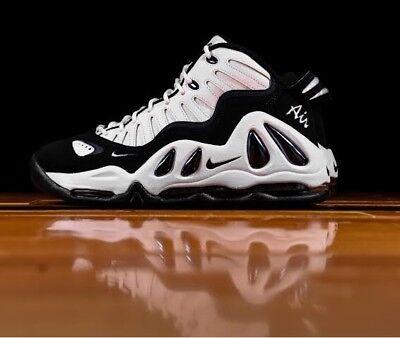 8.5 MEN S Nike Air Max Uptempo 97 399207 101 Pippen White Black SNEAKERS 7b90e901d