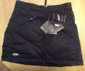 Brand New SKHOOP mini down skirt, XS, black, new with tags