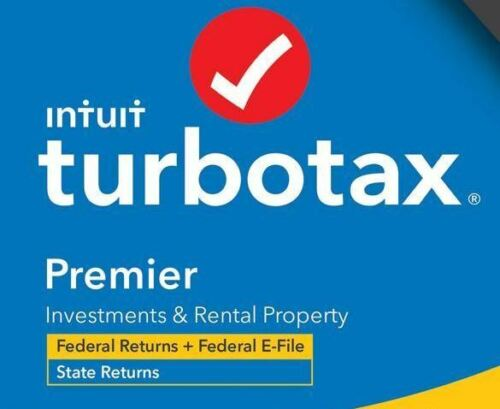 TurboTax PREMIER 2020 - Federal and State - License Code Included