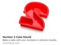 Lekué Number 2 Cake Mould