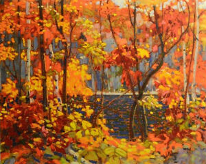 """Tom Thomson Limited Edition """"The Pool"""""""