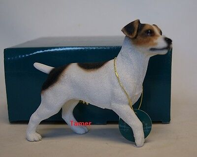 Jack Russell Dog Ornament Figure By Leonardo Brand New Jack Russell Terrier Dog