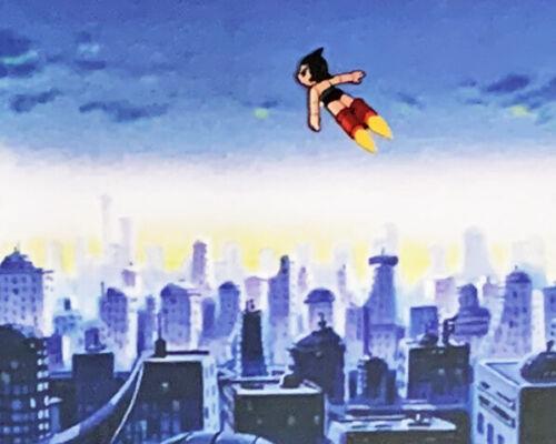 LARGE Astro Boy - Original Anime Animation Production Cel - Atom 097