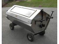HOG ROAST OVEN RENTAL. DIY Summer BBQ gas barbeque spit roast machine for Pig or Lamb Roast