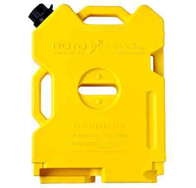 Rotopax 2 Gallon Diesel Pack, Gas Can, Jerry Can, Spare Fuel Container,Off Road
