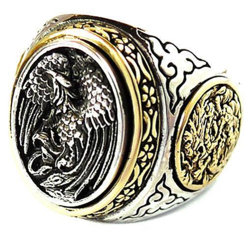 Yin Yang Ring Mens