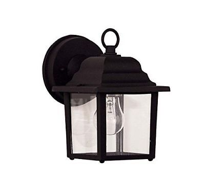 SAVOY HOUSE 07067-BLK EXTERIOR COLLECTIONS BLACK FINISH 9