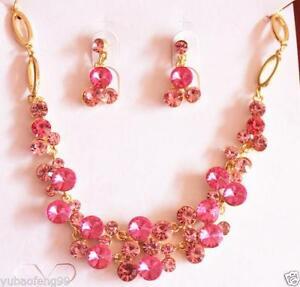Pink Prom Jewelry