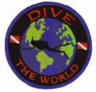 Scuba Diver Patches