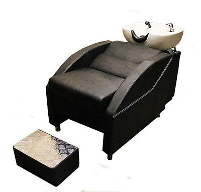 Comfortable Salon Backwash Furniture Barbers Basin Shampoo Sink Back Wash Units