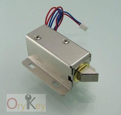 Mini Electric Bolt Lock 12v For File Cabinetsupermarket Lockersauna Locker