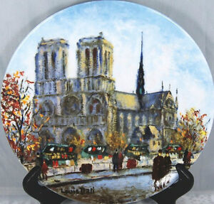 Louis Dali Notre Dame Cathedral Plate