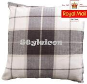 Check Cushion Covers