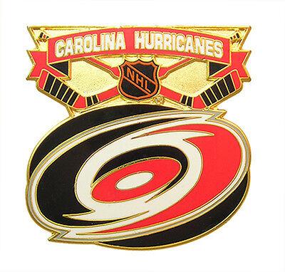Hurricanes Logo Pin - Carolina Hurricanes NHL Face Off Logo Pin