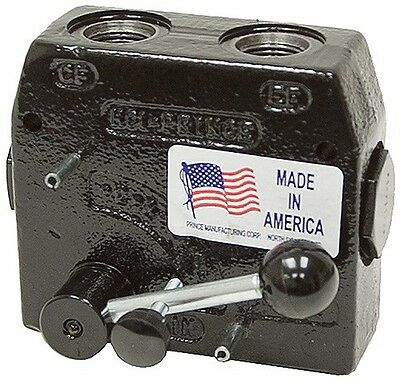 Prince Hydraulic Compensated Flow Control Rd-150-16 12 Port 0-16gpm Adjustable
