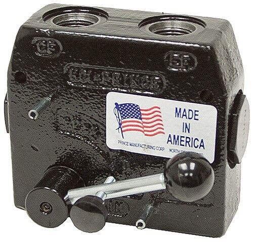 """Prince Hydraulic Compensated Flow Control RD-150-16 1/2"""" Port 0-16GPM Adjustable"""