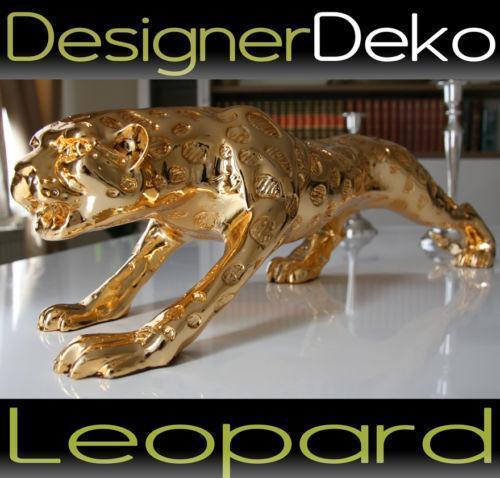 leopard figur ebay. Black Bedroom Furniture Sets. Home Design Ideas